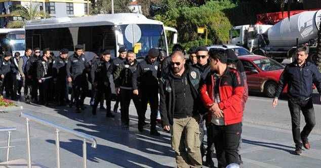 Tam 166 kişi! 2019 yılında Alanya'da uyuşturucudan rekor tutuklama