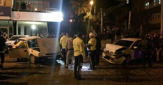Gazipaşa'da zincirleme kaza: 6 yaralı