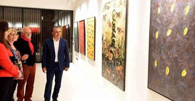 'Kafdağı'nın Ardında' sergisi açıldı