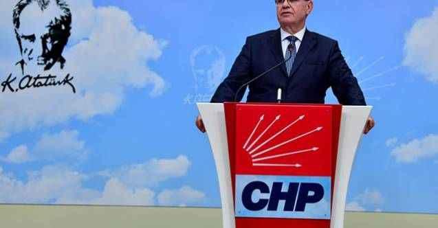 CHP'den Akıncı'ya tepki: Sözleri büyük talihsizlik ve vahim