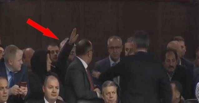Erdoğan kürsüdeyken, sesi salonda yankılandı: Çoluğum çocuğum aç