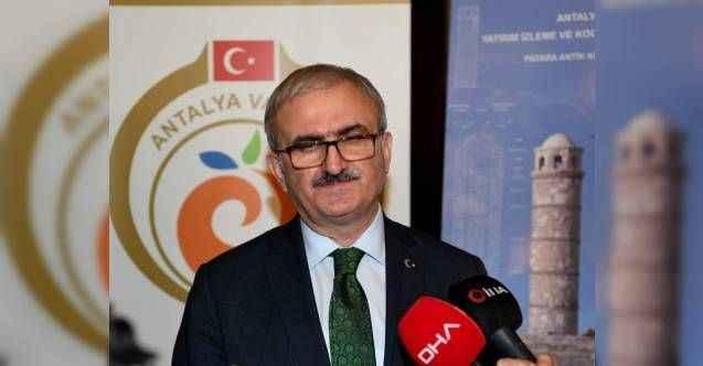 Vali Karaoğlu: İçerisindeki tarihsel yapıları ile kültür varlıklarıyla Patara 2020'nin temasını hak edecek değerde bir yer