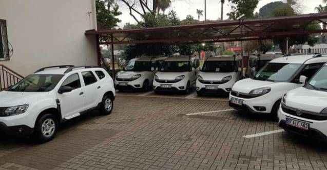 Alanya İlçe Tarım ve Hayvancılık Müdürlüğü'ne 9 yeni araç