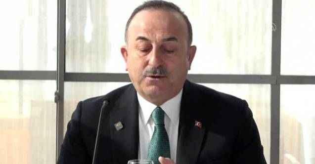 """Çavuşoğlu, Münih'te """"Antalya Diplomasi Forumu"""" tanıtım etkinliğinde konuştu"""