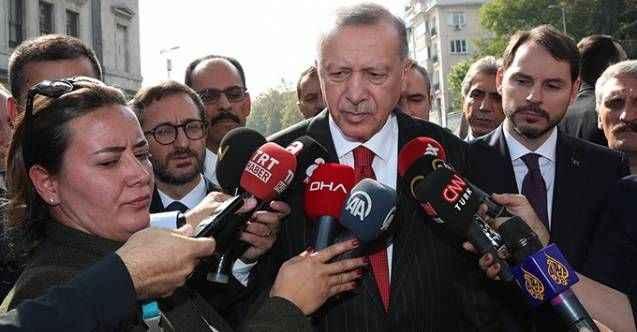 Erdoğan'dan Osman Kavala'yla ilgili karara ilk yorum