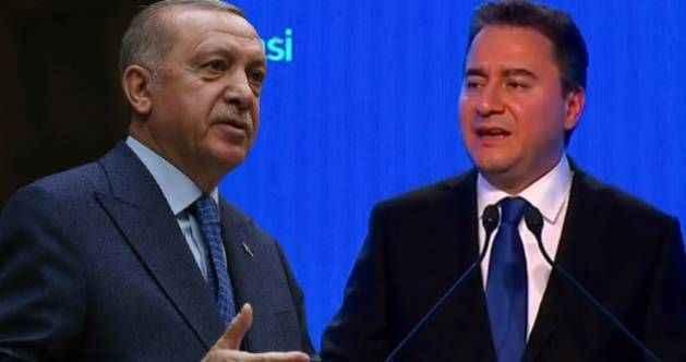 Erdoğan'dan Ali Babacan'ın partisi hakkında ilk yorum