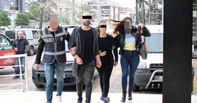 Alanya'da otel baskınında yakalanan uyuşturucu şüphelileri serbest bırakıldı