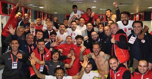 Antalyaspor yenilmiyor