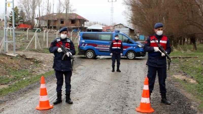 Türkiye'de 8 köy daha karantinaya alındı