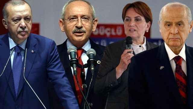 30 büyükşehiri kapsayan seçim anketi! İşte partilerin son oy oranı