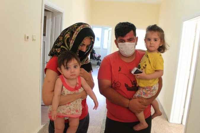Antalya'da ellerindeki titreme sebebiyle işsiz kalan yüzde 50 engelli babanın çaresizliği