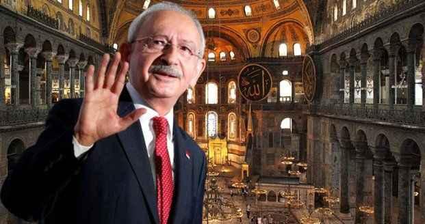 CHP'nin Ayasofya ile ilgili tavrı belli oldu