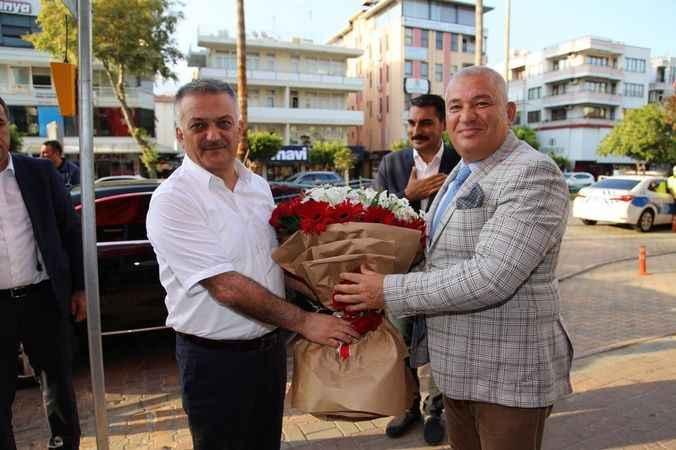 ALTSO Başkanı Şahin valiyi yemekte ağırladı