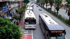 Antalya'da, bugün toplu taşıma araçları yolcuları ücretsiz taşıyacak