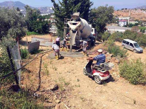 Gazipaşa'da beton seferberliği