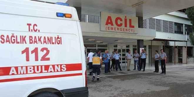 Gazipaşa'da görünmez kaza
