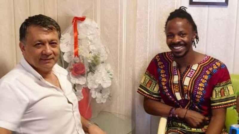 Ugandalı Eşref DİM Medya'da