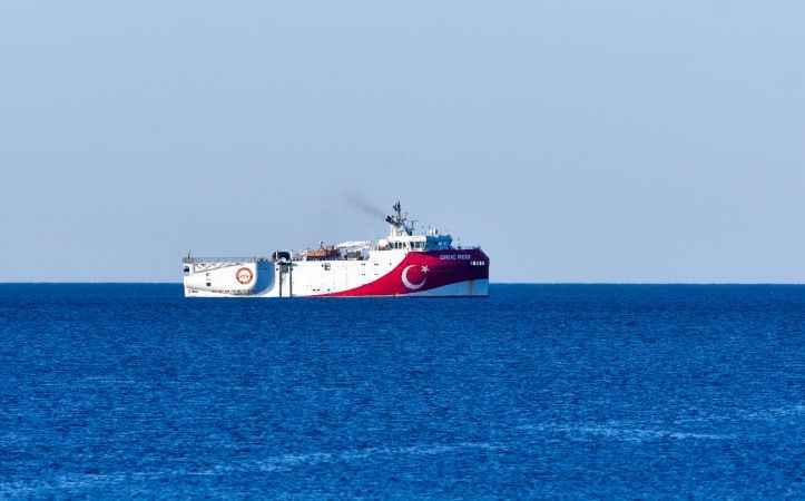 Oruç Reis, Akdeniz için görev bekliyor