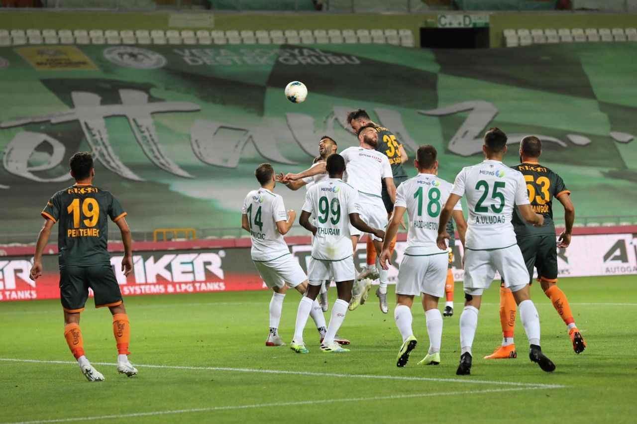 Konyaspor 2 - 1 Aytemiz Alanyaspor maçı: CANLI ANLATIM - Alanya Spor