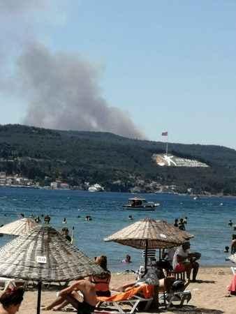 5 ayrı noktada orman yangını! Bakan programını iptal etti