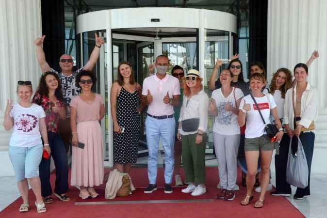 Ukrayna basını Antalya'da