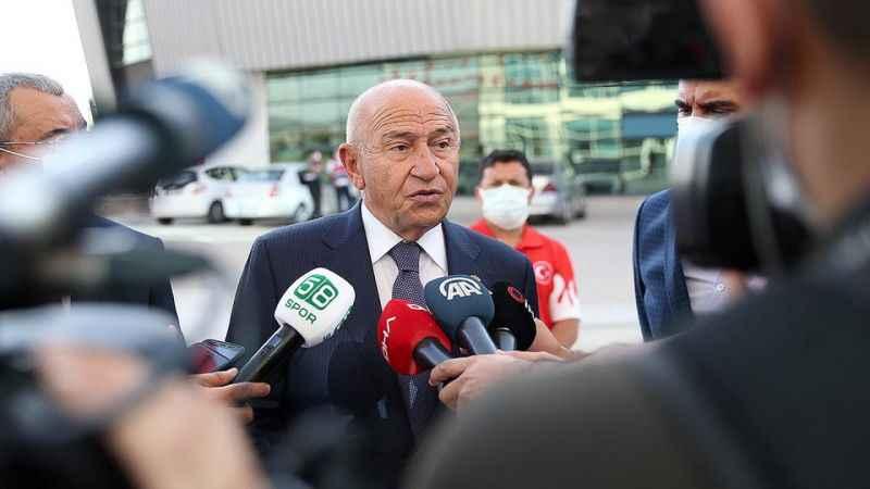 TFF Başkanı Özdemir: Bizim için en önemli şey insan ve sporcu sağlığı