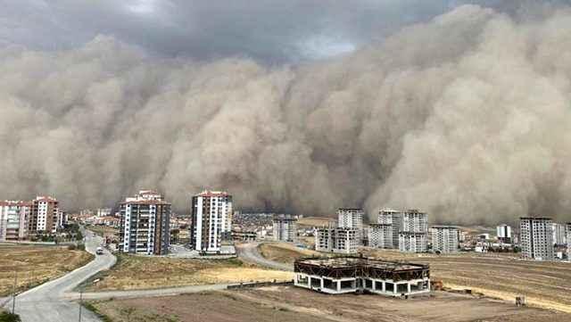 Antalya'ya toz fırtınası uyarısı! Kronik rahatsızlığı olanlar evden çıkmasın