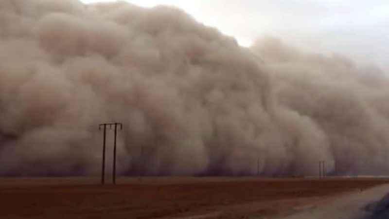 Alanya'ya toz fırtınası uyarısı