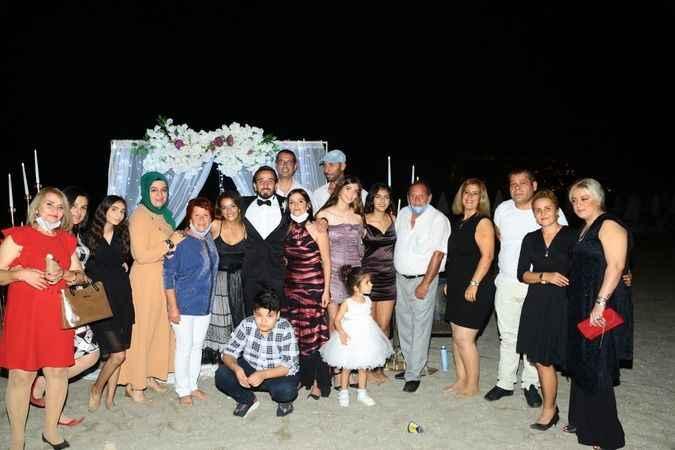 Ceren ve Ömer evlendi