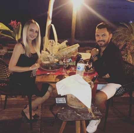 Alanya'da romantik akşam