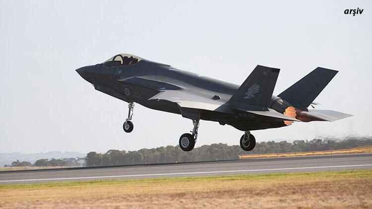Son Dakika: F-35 uçağı düştü