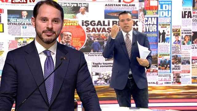 Akit TV'de Bakan Albayrak'a sert eleştiri