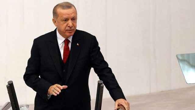 Erdoğan, TBMM'nin açılışında Ermenistan'a yüklendi