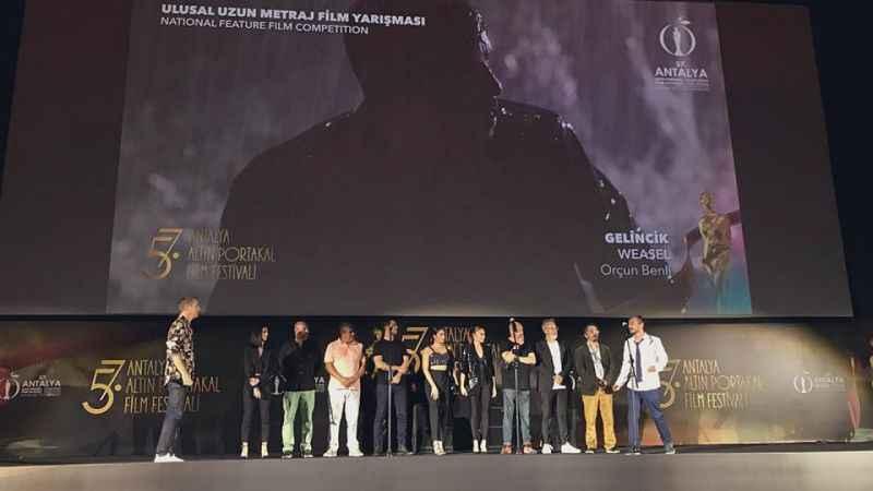 57. Antalya Altın Portakal Film Festivali'nde 'Gelincik' ve 'Dersaadet Apartmanı' seyirciyle buluştu
