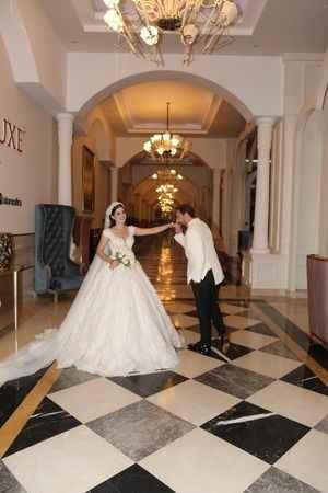 Alanya'da masalları aratmayan düğün