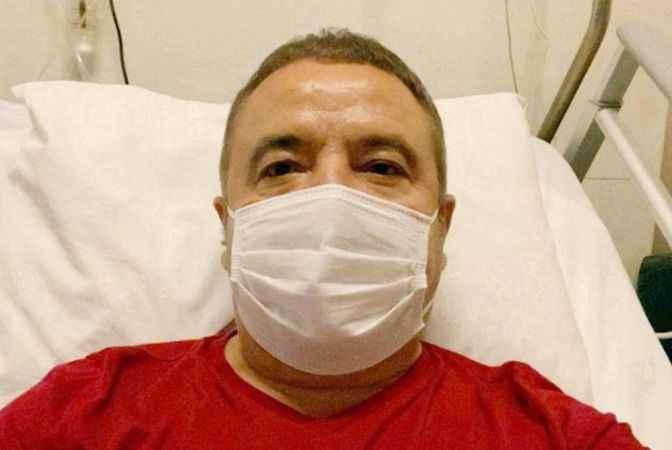 Başkan Böcek hastanedeki 2'nci ayını doldurdu