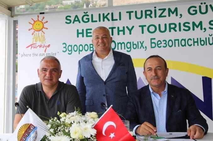 Şahin'den Bakan Çavuşoğlu'na destek teşekkürü