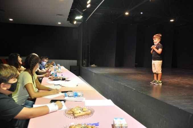 Alanya'da drama kursu seçmeleri yapıldı