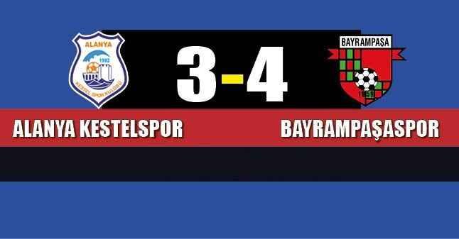 Alanya Kestelspor'a nazar değdi 3-4