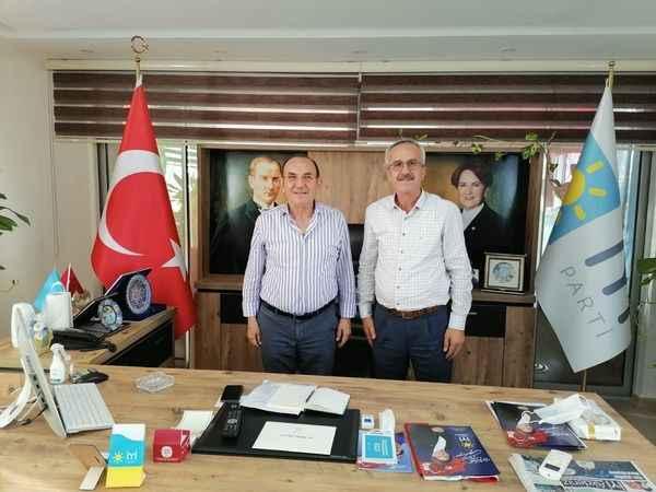 Gazipaşa'da İYİ Parti'nin ziyaret turu