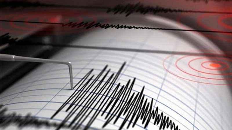 Denizde korkutan deprem