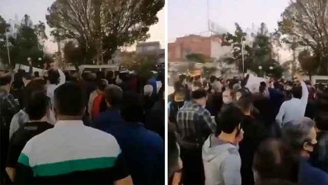 Son dakika: İran'da Türkler ayaklandı
