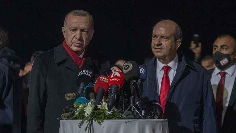 Cumhurbaşkanı Erdoğan: Kuzey Kıbrıs'a yapılan adaletsizliği hazmetmek mümkün değil