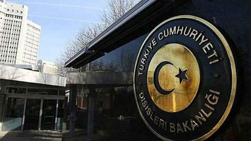 """Dışişleri Bakanlığı: """"Saldırıları şiddetle kınıyoruz"""""""