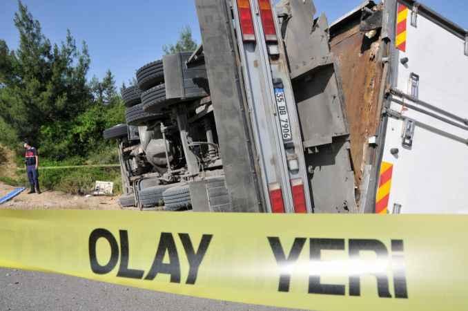 Antalya yolunda feci kaza