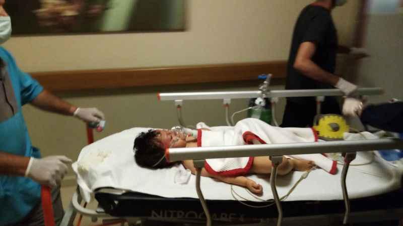 Otomobilin çarptığı çocuk, ağır yaralandı