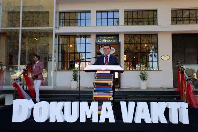Antalya'nın en zengin kütüphanesi kapılarını açtı