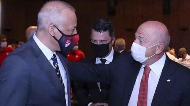 TFF Başkanı Nihat Özdemir: 'Algılara boyun eğip MHK Başkanı değiştirmeyeceğiz'