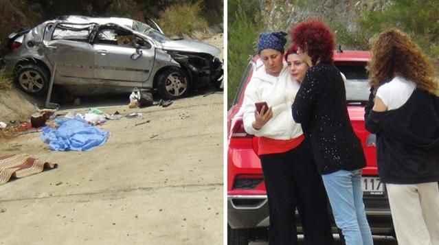 Antalya'da feci kaza! 3.5 yaşındaki çocuk aracın camından fırladı