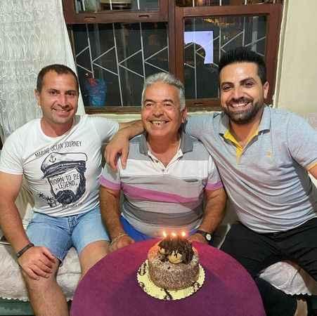 Babaya sürpriz doğum günü